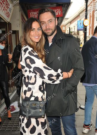 Stock Picture of Ciara Janson and Mans Zelmerlow