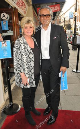 Stock Photo of Lesley Reynolds Khan and Dr Aamer Khan