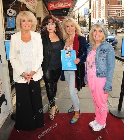 Stock Photo of Sherrie Hewson, Harriet Thorpe, Debbie Arnold and Dee Anderson