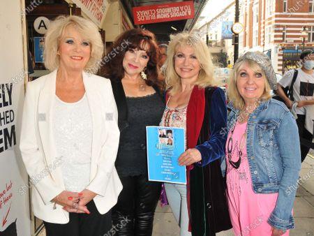 Sherrie Hewson, Harriet Thorpe, Debbie Arnold and Dee Anderson