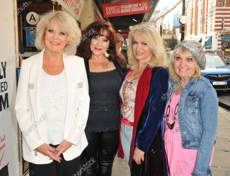 Stock Image of Sherrie Hewson, Harriet Thorpe, Debbie Arnold and Dee Anderson