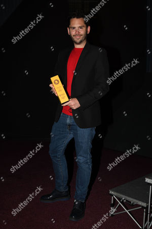 Stock Image of Martin Delaney collects Best Supporting Actor Award For Josef Altin