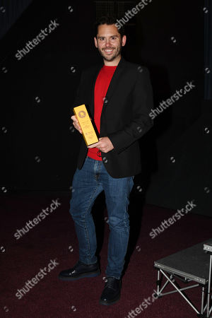 Martin Delaney Collects Best Supporting Actor Award For Josef Altin