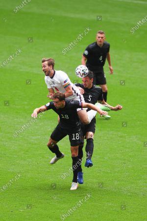 Editorial image of England v Germany, UEFA European Championship 2020, Round of 16, International Football, Wembley Stadium, London, UK - 29 June 2021