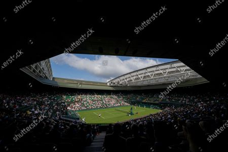 Editorial photo of Wimbledon Tennis Championships, Day 1, The All England Lawn Tennis and Croquet Club, London, UK - 28 Jun 2021