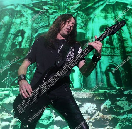Editorial photo of Slayer, Megadeth and Testament in concert at the Susquehanna Bank Center, New Jersey, America - 15 Aug 2010