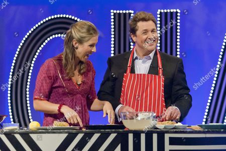 Jo Pratt (chef) and Michael Ball