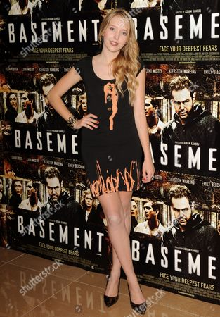 Editorial photo of 'Basement' Film Premiere, London, Britain - 17 Aug 2010