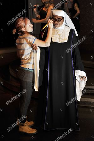 Editorial image of Whoopie Goldberg wax model is re-dressed as a Mother Superior to mark her run in the smash hit West End Musical, 'Sister Act' - London, Britain - 18 Aug 2010