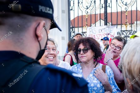 Editorial picture of Women Antifascists Protest In Warsaw, Poland - 28 Jun 2021