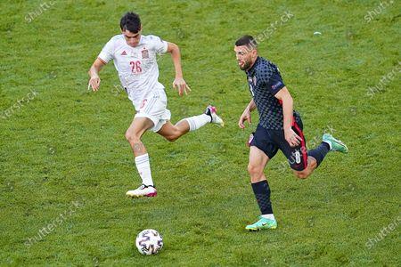 Editorial picture of Croatia v Spain Euro 2020 match, round of 16. Football, Parken Stadion, Copenhagen, Denmark - 28 Jun 2021
