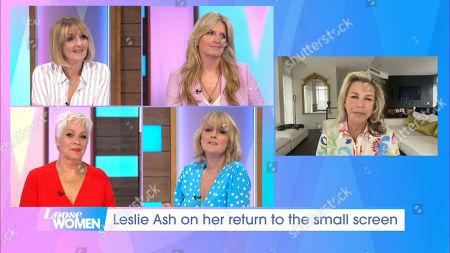 Leslie Ash, Kaye Adams, Penny Lancaster, Denise Welch and Jane Moore