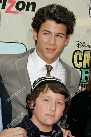 Frankie Jonas and Nick Jonas