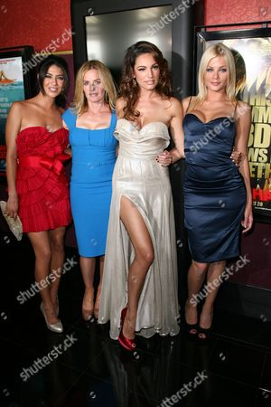 Jessica Szohr, Elisabeth Shue, Kelly Brook and Riley Steele
