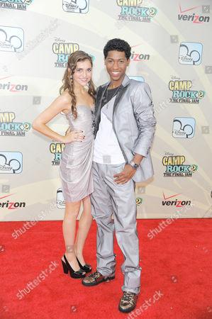 Alyson Stoner and Jordan Francis