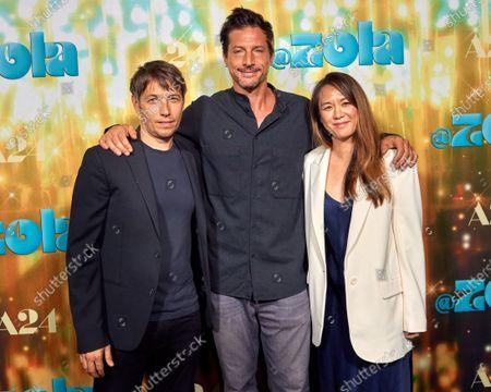 Sean Baker, Simon Rex and Samantha Quan