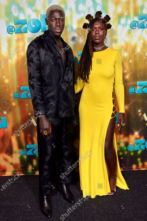 Stock Picture of Moses Sumney and Jodie Turner Smith