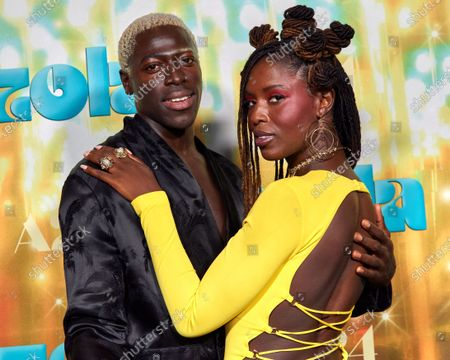Stock Photo of Moses Sumney and Jodie Turner Smith