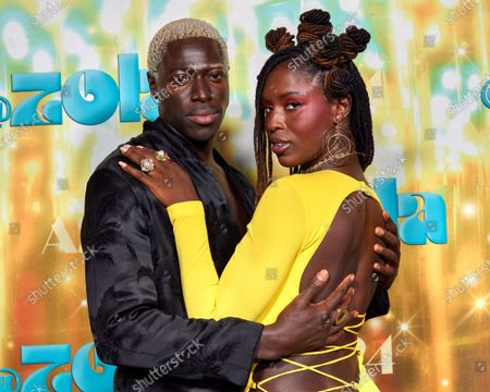 Moses Sumney and Jodie Turner Smith
