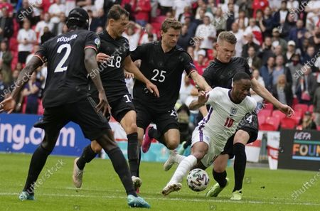 Editorial picture of Round of 16 England vs Germany, London, United Kingdom - 29 Jun 2021