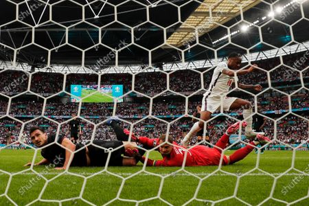 Editorial picture of England Germany Euro 2020 Soccer, London, United Kingdom - 29 Jun 2021