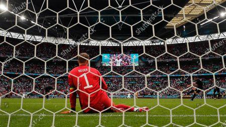 Editorial photo of England Germany Euro 2020 Soccer, London, United Kingdom - 29 Jun 2021