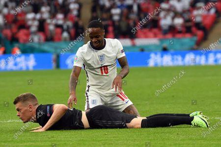 Editorial photo of Round of 16 England vs Germany, London, United Kingdom - 29 Jun 2021