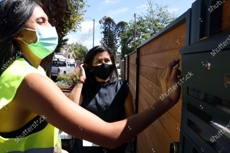 Editorial image of Canvassing event for COVID-19 vaccinations, South l.a., Los Angeles, California, United States - 08 Jun 2021