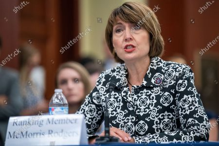 Republican Representative from Washington Cathy McMorris Rodgers delivers remarks during House Republican forum  'Led By Science: The COVID-19 Origin Story' in the US Capitol in Washington, DC, USA, on 29 June 2021. The House Republicans are presenting evidence and questioning witnesses on the Wuhan lab leak COVID-19 origin theory.