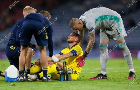 Editorial image of Sweden Ukraine Euro 2020 Soccer, Glasgow, United Kingdom - 29 Jun 2021