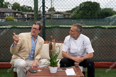 William Sitwell and Michel Roux Jnr