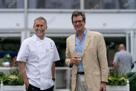 Editorial image of Carlo Carello hosts lunch at The Lawn with Keith Prowse, Wimbledon Championships, London, UK - 29 Jun 2021
