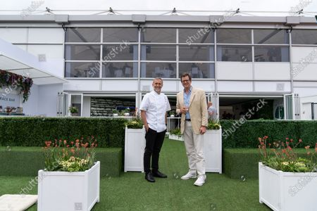 Stock Picture of Michel Roux Jnr and William Sitwell
