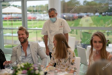 Editorial photo of Carlo Carello hosts lunch at The Lawn with Keith Prowse, Wimbledon Championships, London, UK - 29 Jun 2021