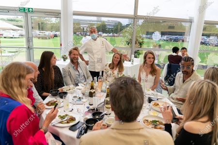 Editorial picture of Carlo Carello hosts lunch at The Lawn with Keith Prowse, Wimbledon Championships, London, UK - 29 Jun 2021