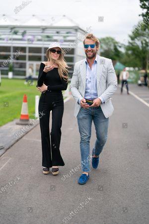 Stock Photo of Olivia Arben and Jake Parkinson Smith