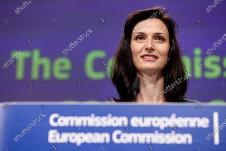 Editorial picture of Virus Outbreak EU Culture, Brussels, Belgium - 29 Jun 2021