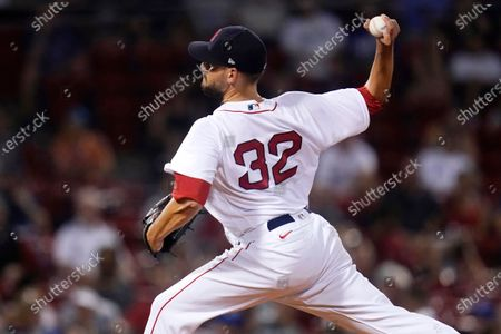 Boston Red Sox relief pitcher Matt Barnes delivers during the ninth inning of the team's baseball game against the Kansas City Royals at Fenway Park, in Boston. The Red Sox won 7-6