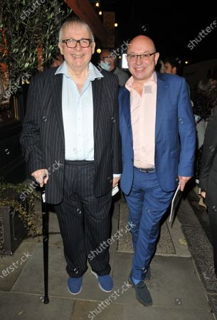 Stock Image of Christopher Biggins and Neil Sinclair