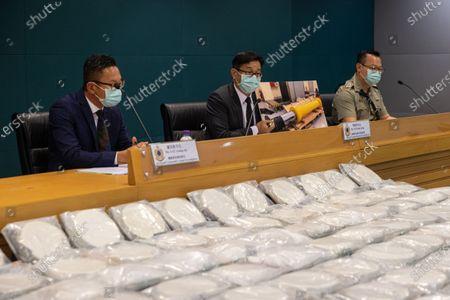Editorial photo of Cocaine seized at Hong Kong airport, China - 30 Jun 2021