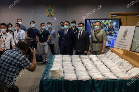 Editorial picture of Cocaine seized at Hong Kong airport, China - 30 Jun 2021
