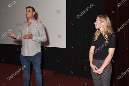 Stock Picture of Exclusive - Katie McNeill (Holler producer), Jamie Patricof (Holler producer)