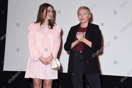 Exclusive - Jessica Barden, Nicole Riegel (Holler writer)