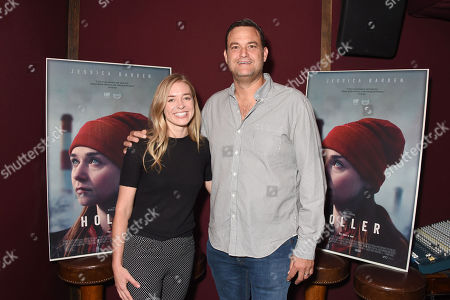 Stock Image of Exclusive - Katie McNeill (Holler producer), Jamie Patricof (Holler producer)