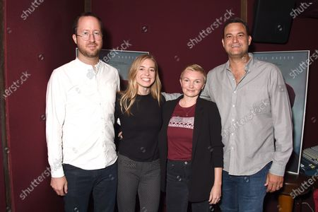 Exclusive - Adam Cobb (Holler producer), Katie McNeill (Holler producer), Nicole Riegel (Holler director and writer), Jamie Patricof (Holler producer)