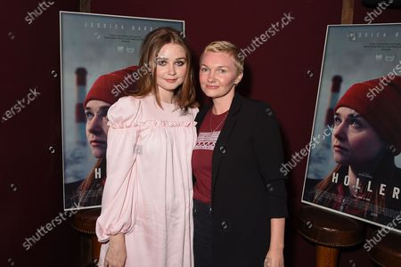 Exclusive - Jessica Barden and Nicole Riegel