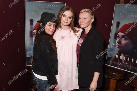 Exclusive - Pamela Adlon, Jessica Barden, Nicole Riegel (Holler writer)