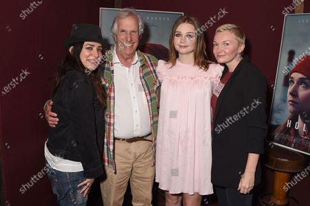 Exclusive - Pamela Adlon, Henry Winkler, Jessica Barden and Nicole Riegel