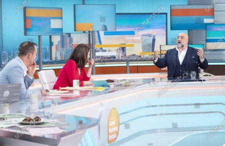 Editorial image of 'Good Morning Britain' TV show, London, UK - 30 Jun 2021