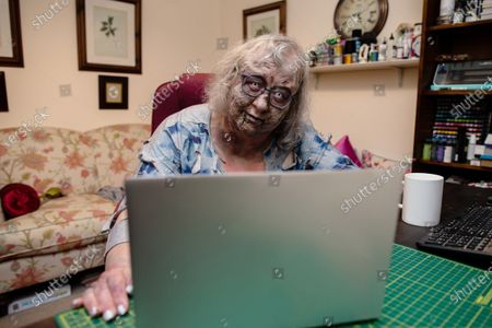 Editorial image of The Walking Dead - Video Call Zombie Service, Handforth, UK - 30 Jun 2021
